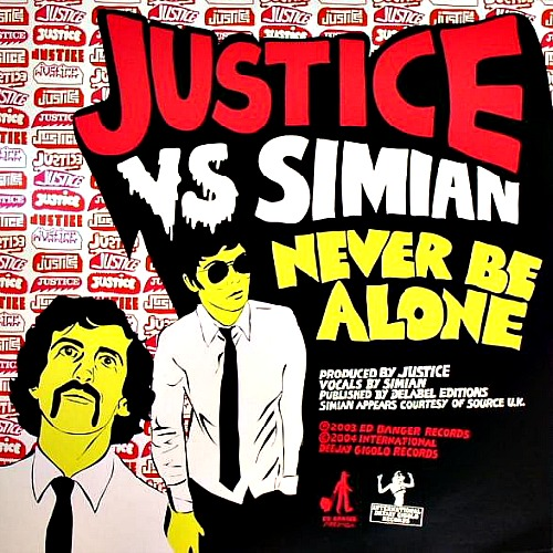 2003 – Never Be Alone (vs. Simian / E.P.)