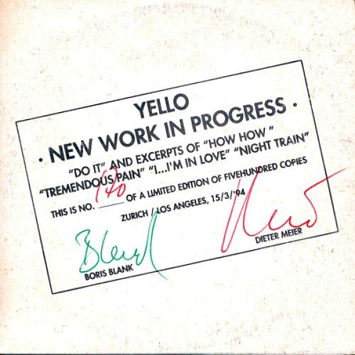 1994 – New Work In Progress (E.P.)