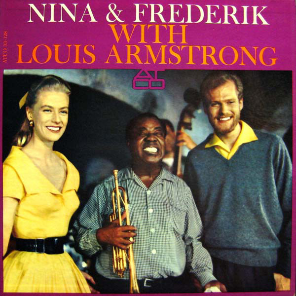 1961 – Nina & Frederik With Louis Armstrong