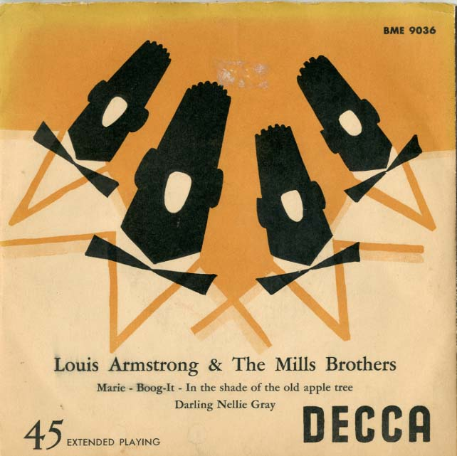 1968 – Louis Armstrong & The Mills Brothers (E.P.)