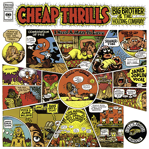 1968 – Cheap Thrills (Big Brother and the Holding Company Album)