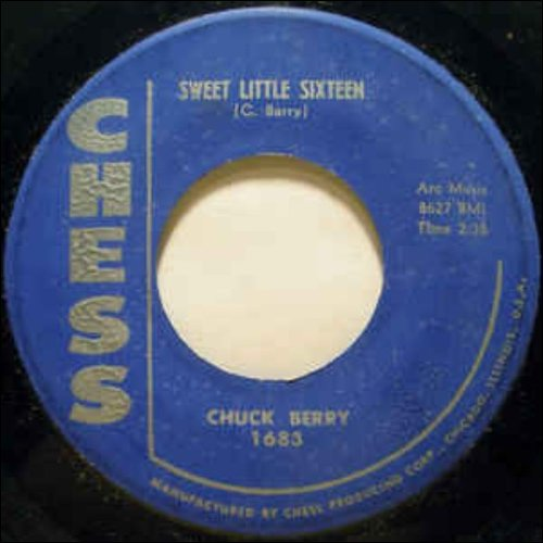 1958 – Sweet Little 16 (E.P.)