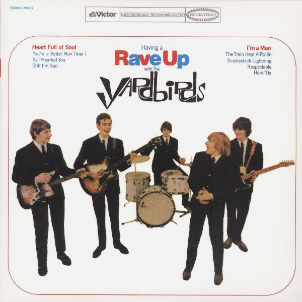 1965 – Having a Rave Up (with The Yardbirds)