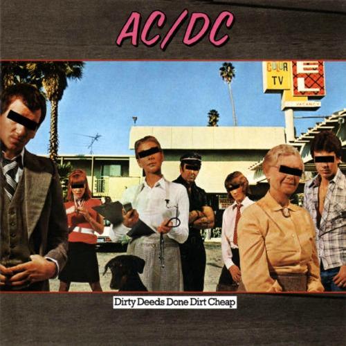 1976 – Dirty Deeds Done Dirt Cheap