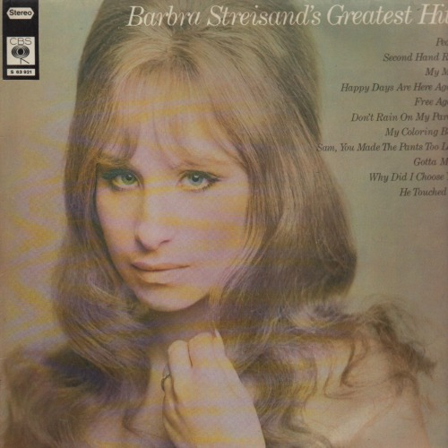 1970 – Barbra Streisand's Greatest Hits (Compilation)