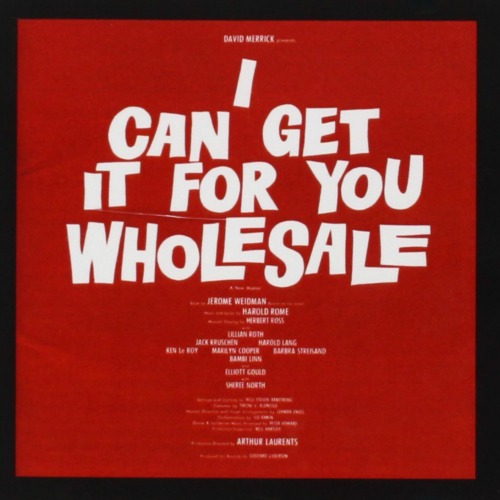 1962 – I Can Get It for You Wholesale: Original Broadway Cast Recording (O.S.T.)
