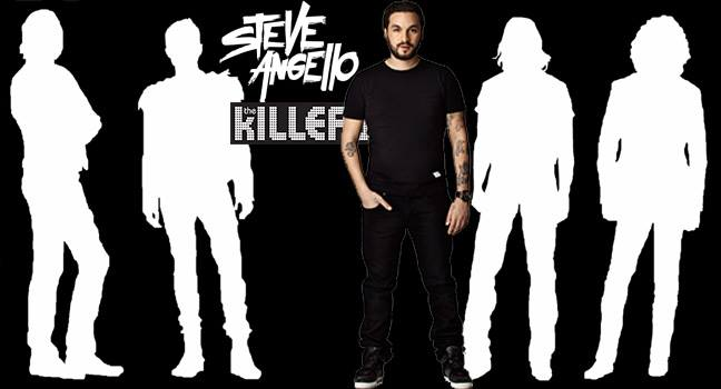 Νέα Συνεργασία | Steve Angello Feat. The Killers – Feels Like Heaven