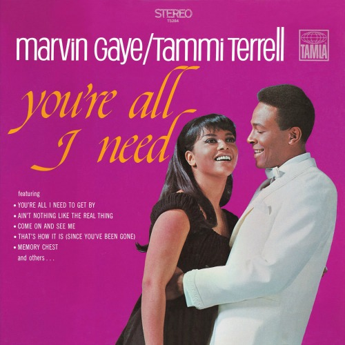 1968 – You're All I Need (with Tammi Terrell)