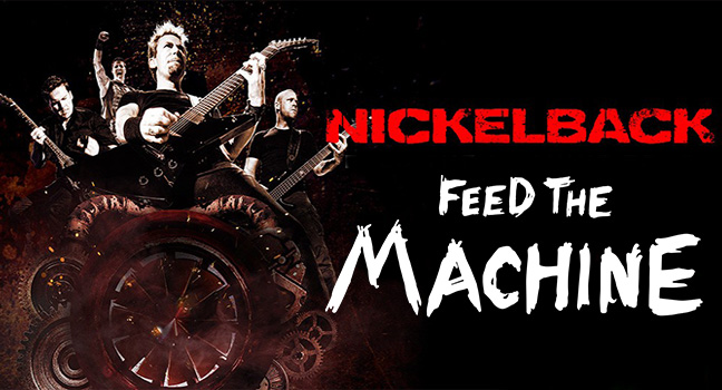 Νέο Video Clip | Nickelback – Feed The Machine