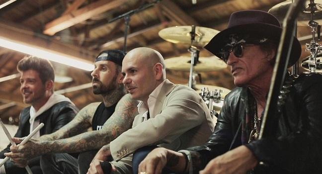 Νέο Video Clip | Pitbull Feat. Robin Thicke, Joe Perry, Travis Barker – Bad Man