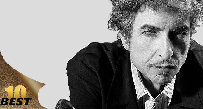 Best 10   10 πράγματα που ίσως δεν γνώριζες για τον Bob Dylan!