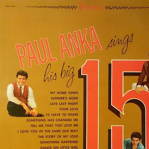 1961 – Paul Anka Sings His Big 15, Vol. 2 (Compilation)