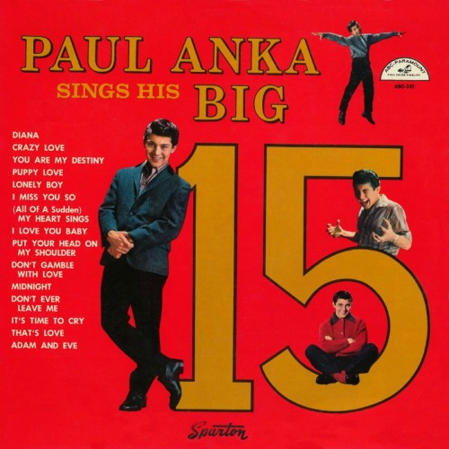1959 – Paul Anka Sings His Big 15 (Compilation)