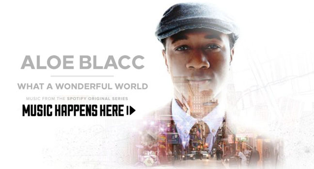 Νέα Διασκευή & Flashback | Aloe Blacc – What A Wonderful World