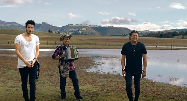 Νέο Video Clip | Carlos Vives & Sebastian Yatra – Robarte Un Beso