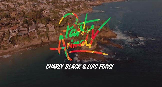 Νέα Συνεργασία & Video Clip | Charly Black & Luis Fonsi – Party Animal