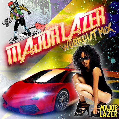 2013 – Major Lazer Workout Mix (Mixtape)