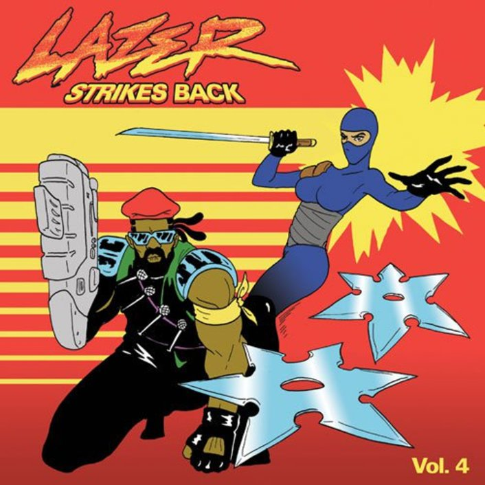 2013 – Lazer Strikes Back Vol. 4 (E.P.)