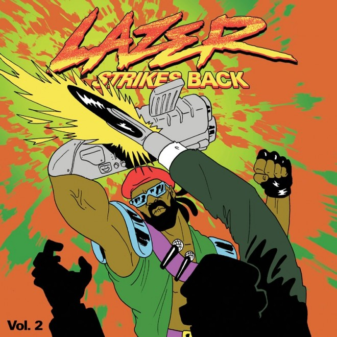 2013 – Lazer Strikes Back Vol. 2 (E.P.)