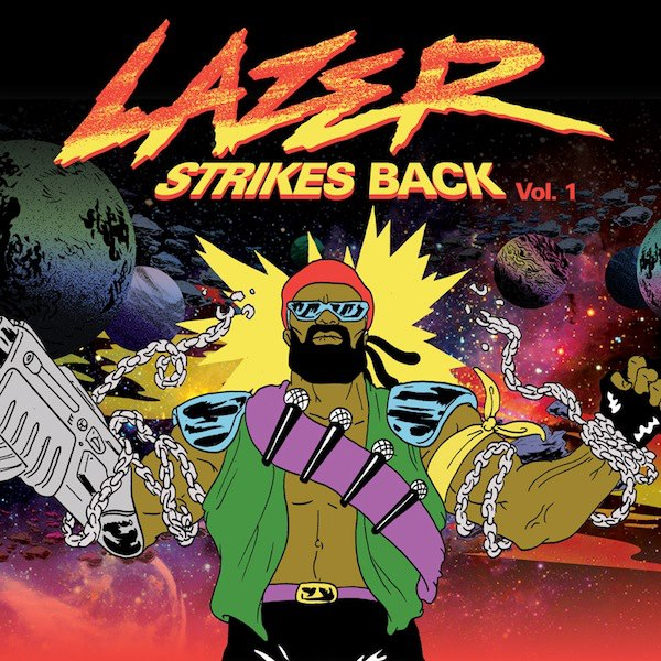2013 – Lazer Strikes Back Vol. 1 (E.P.)
