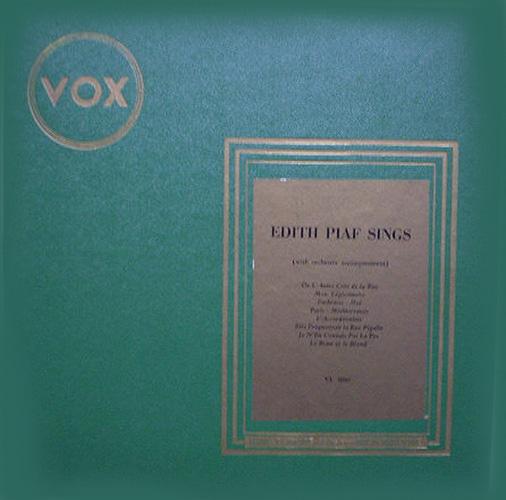 1949 – Edith Piaf Sings