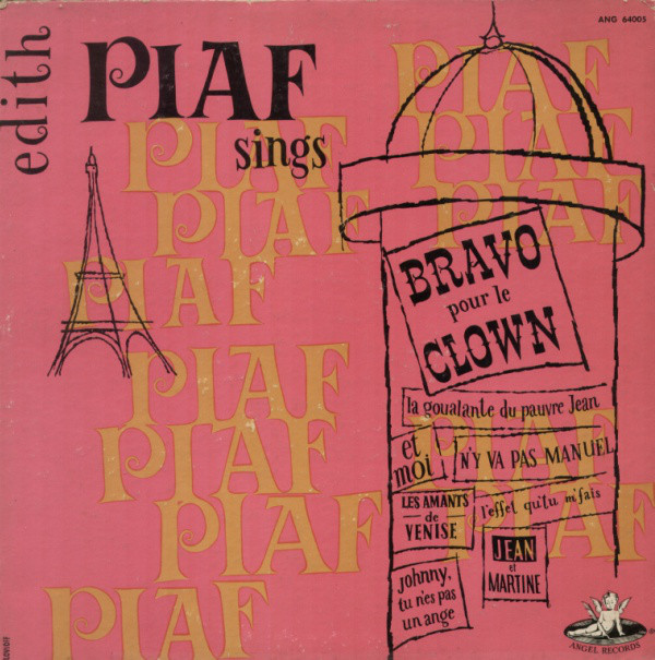 1954 – Edith Piaf Sings Bravo Pour Le Clown
