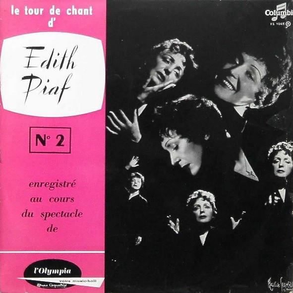 1956 – Le Tour De Chant D'Edith Piaf No. 2: Live A L'Olympia