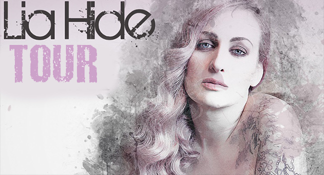 Lia Hide On Tour | Οι σταθμοί της περιοδείας της!