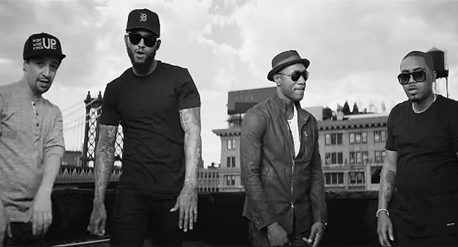 Νέο Video Clip   Nas, Dave East, Lin-Manuel Miranda & Aloe Blacc – Wrote My Wat Out (Hamilton O.S.T.)