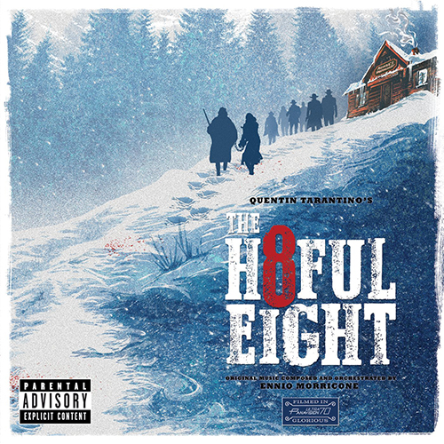 2015 – The Hateful Eight O.S.T. (Ennio Morricone)
