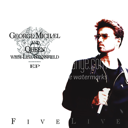 1993 – Five Live (with George Michael and Queen) (E.P.)