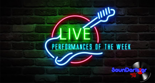 Live Performances Of The Week 25/10-1/11/2019