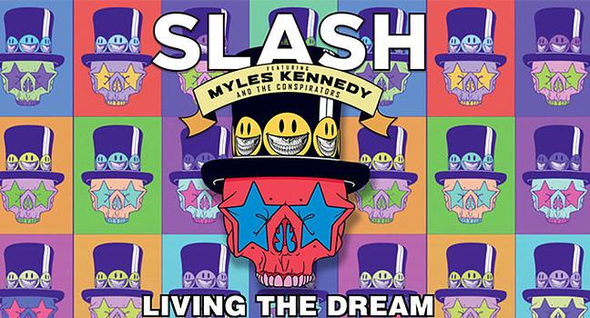 Νέο Album   Slash Feat. Myles Kennedy & The Conspirators – Living The Dream