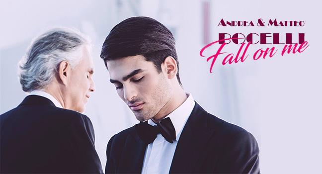 Νέα Συνεργασία | Andrea & Matteo Bocelli – Fall On Me