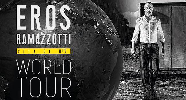 News | Eros Ramazzotti ζωντανά στο Κλειστό Φαλήρου | Οι τελευταίες λεπτομέρειες