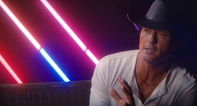 Νέο Music Video   Tim McGraw – Neon Church
