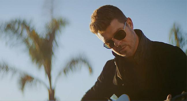 Νέο Music Video | Robin Thicke – Testify