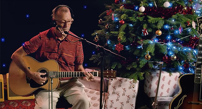 Νέο Cover | Eric Clapton – Home For The Holidays