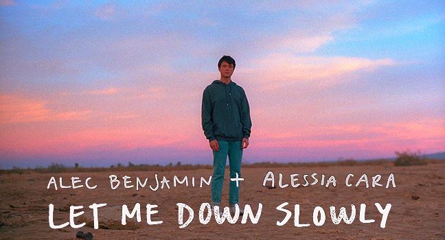 Νέα Συνεργασία   Alec Benjamin & Alessia Cara – Let Me Down Slowly