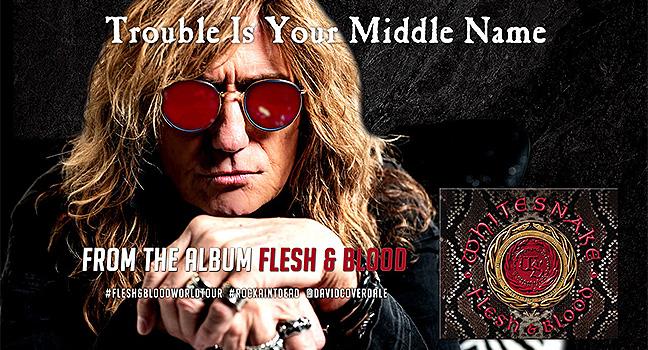 Νέο Τραγούδι   Whitesnake – Trouble Is Your Middle Name