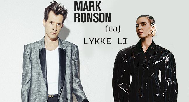 Νέα Συνεργασία   Mark Ronson Feat. Lykke Li – Late Night Feelings