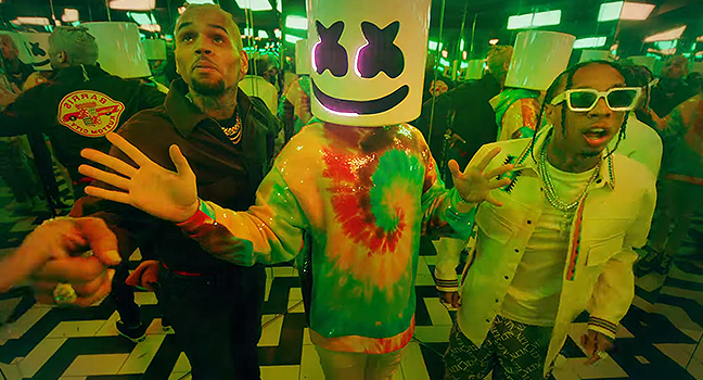Νέα Συνεργασία & Music Video | Marshmello Feat. Tyga & Chris Brown – Light It Up