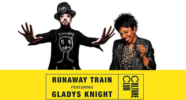 Νέα Συνεργασία | Boy George & Culture Club Feat. Gladys Knight – Runaway Train