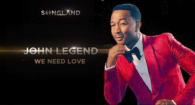 "Νέο Τραγούδι | John Legend – We Need Love (from ""Songland"" O.S.T.)"