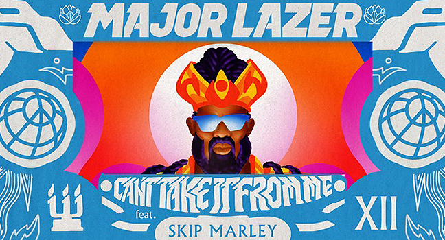 Νέα Συνεργασία | Major Lazer Feat. Skip Marley – Can't Take It From Me