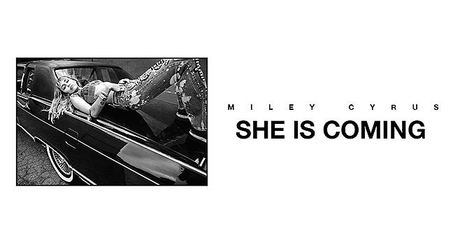 Νέο E.P. | Miley Cyrus – She Is Coming