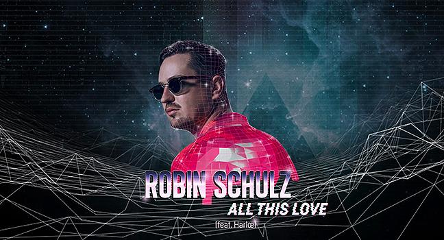 Νέα Συνεργασία | Robin Schulz Feat. Harlœ – All This Love