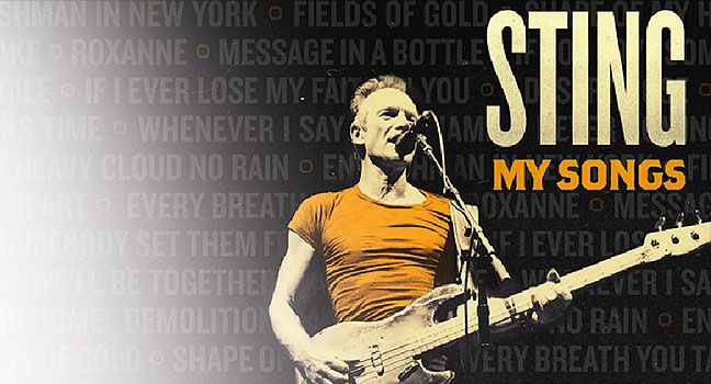 Νέο Album | Sting – My Songs
