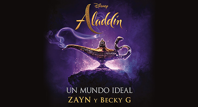 Νέα Version & Συνεργασία | ZAYN & Becky G – Un Mundo Ideal (From «Aladdin» O.S.T.)