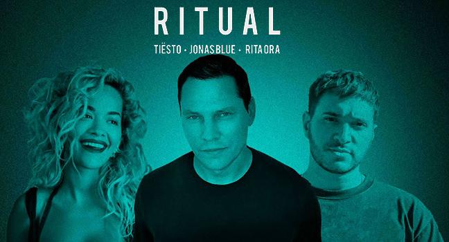 Νέα Συνεργασία | Tiësto, Jonas Blue & Rita Ora – Ritual